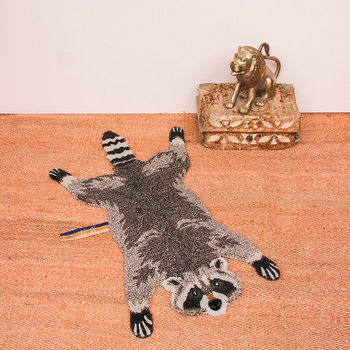 Rocky Racoon - Teppich