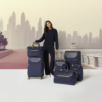 Albany Softside Suitcase - Navy - Small