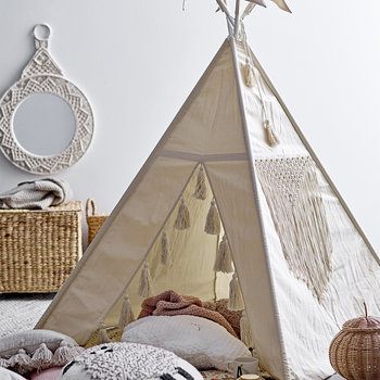 Children's Teepee - Cream
