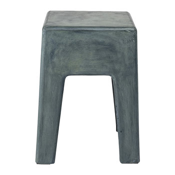 Concrete Ravi Stool - Green