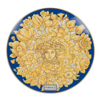 Medusa Rhapsody Side Plate - Blue