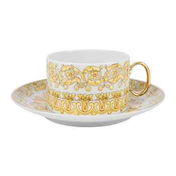 Medusa Rhapsody Tea Cup and Saucer