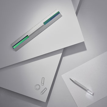 Crystal Stationery Pen - Silver