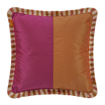 Juzcar Genal Pillow with Trims - 45x45cm - Multicolor