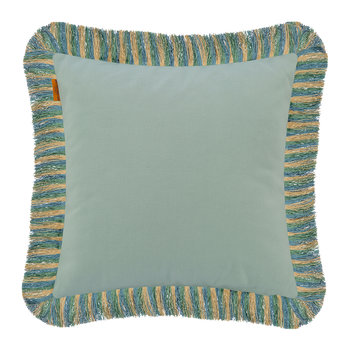 Poitiers Boivre Cushion with Trims - 45x45cm - Blue