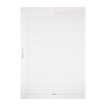 A4 Ruled Notepad Refill Paper