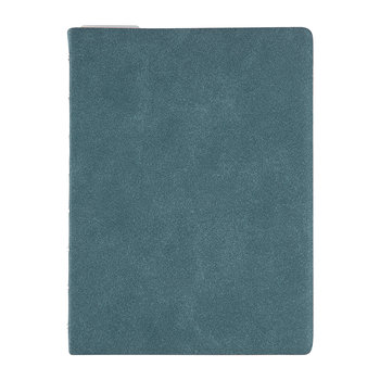 A5 Architexture Notebook - Blue Suede