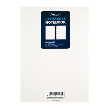 A5 Notebook Refill Paper - Plain