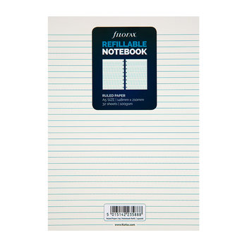 A5 Filofax Ruled Notes - White