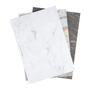 A5 Organiser Refill Paper - Marble