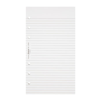 Personal Organiser Refill Paper - Ruled