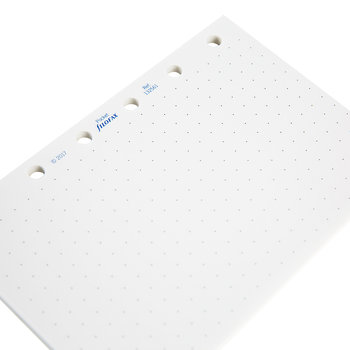 Pocket Organizer Dotted Refill Paper