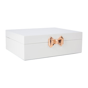 Jewelry Box - White