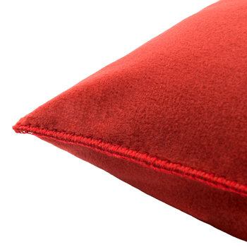 Soft Fleece Kissen - 50x50cm - Rostrot