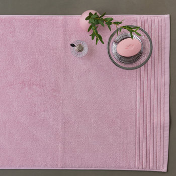 Cotton Bath Mat - Blush Pink