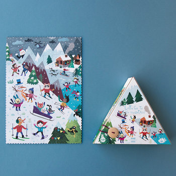Let's Go To The Mountain Reversible Puzzle