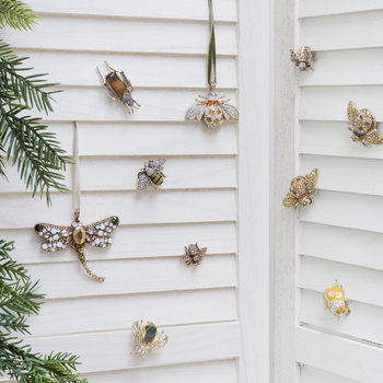 Mini Bug Clips - Set of 5 - Gold