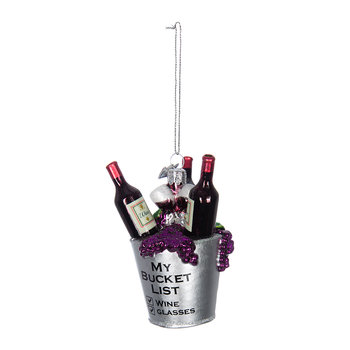 Wine Bucket Tree Decoration