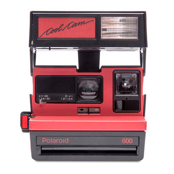 Appareil Photo Polaroid 600 - Rouge Cool Cam