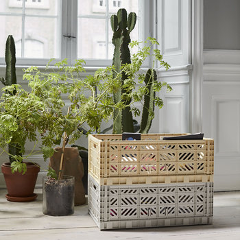 Storage Crate - Light Yellow - L