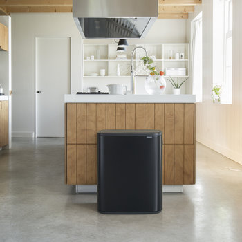 Bo Touch Bin - 60 Litre - Matt Black