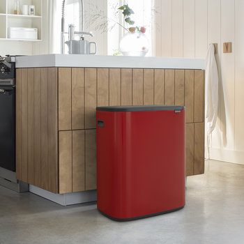 Bo Touch Bin - 60 Litre - Passion Red