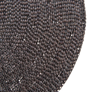 Woven Beaded Placemat - Set of 2 - Gunmetal