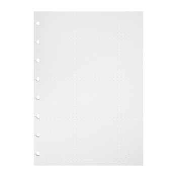 A5 Classic Dotted Journal Refill - White - Dotted
