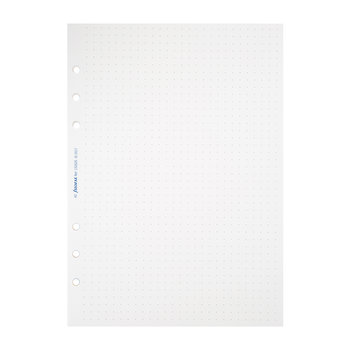 A5 Organizer Dotted Refill Paper