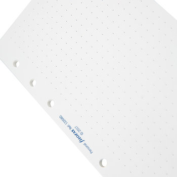 Personal Organizer Dotted Refill Paper