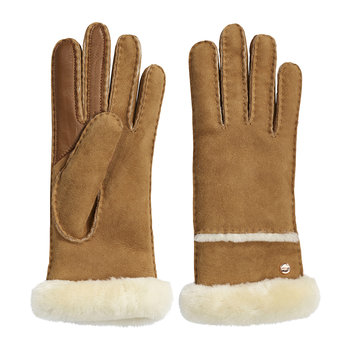 Women's Seamed Tech Glove - Chestnut