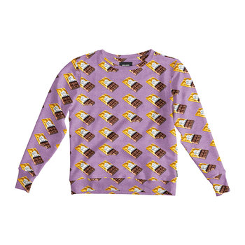 Women's Chocolate Dream Sweater - Purple