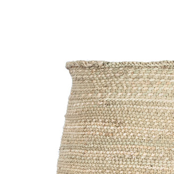 Safi Hand Woven Storage Basket - Natural