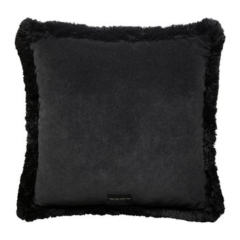 Flora Pillow - Black/Ocher