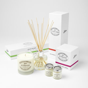Mini Candle Gift Box - English Orchard