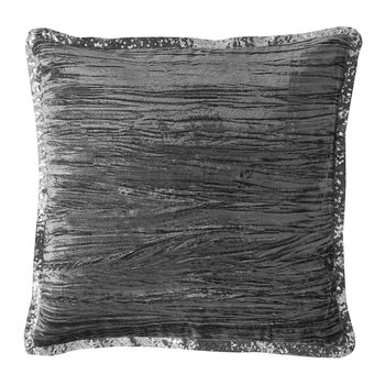 Zander Filled Pillow - Silver - 45x45cm