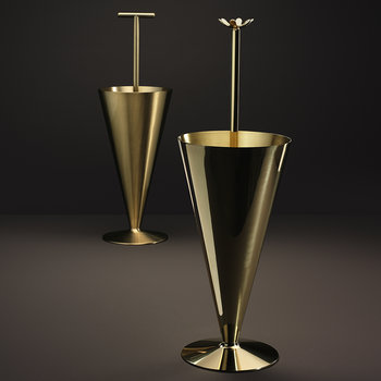 Butler Umbrella Stand - Brass