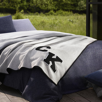 Gene Duvet Cover - Light Wash/Indigo