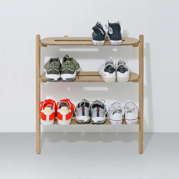 Heel Bar Shoe Tidy - Oak