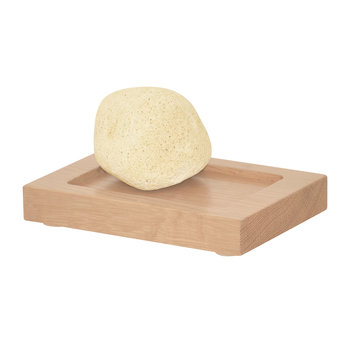 Wooden Soap Dish - Oak