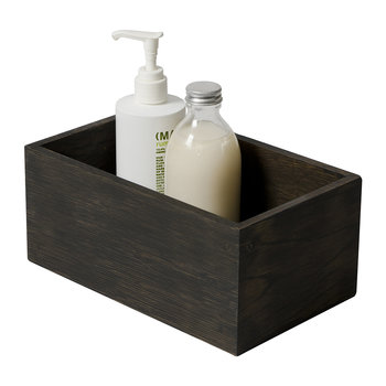 Wooden Storage Box - Dark Oak