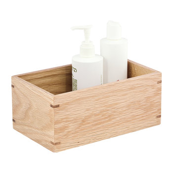 Wooden Storage Box - Oak