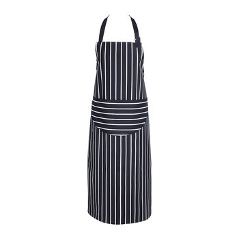Butchers Stripe Apron - Navy