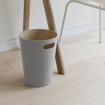 Woodrow Waste Bin - Grey
