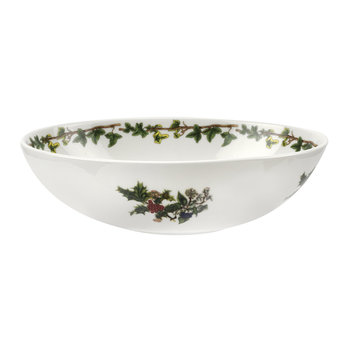 The Holly & The Ivy Oval Bowl