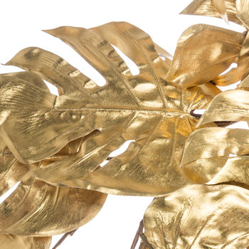 Tropical Leaf Garland - Gold