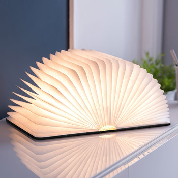 Smart Book Light aus Leder - Schwarz