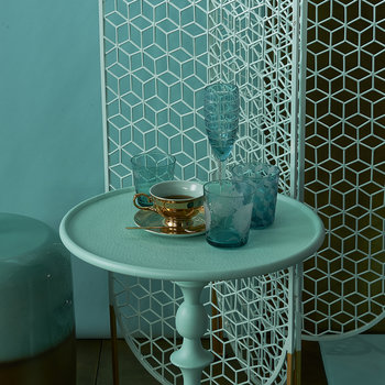 Classic Side Table - Mint Green