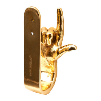 Gold Hands Wall Hook - I Love You