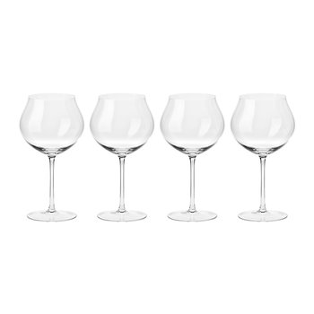 Clarity Handmade Red Wine Glass - Set of 4